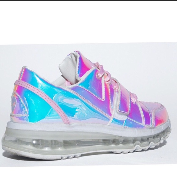 46b358ab0fb83d YRU Aiire light up hologram rave sneakers. M 5b116cc3f63eea76686e26c5